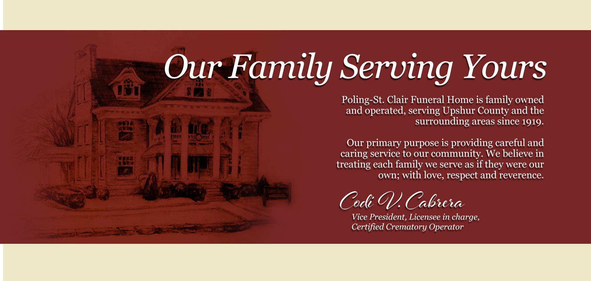 home poling st clair funeral home crematory buckhannon wv